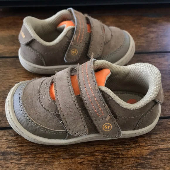 74a4ee2c5f37b Stride Rite Infant Toddler Kyle Sneaker Size 4